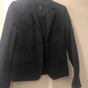 Jcrew navy blazer size 6